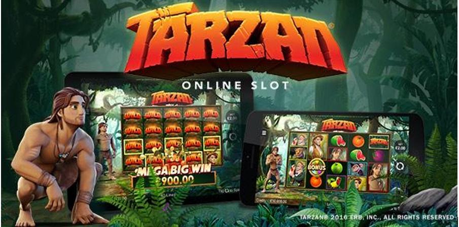 เกมส์ทาซาน Tarzan Slot เป็นเกมส์ยอดนิยมในคาสิโนออนไลน์
